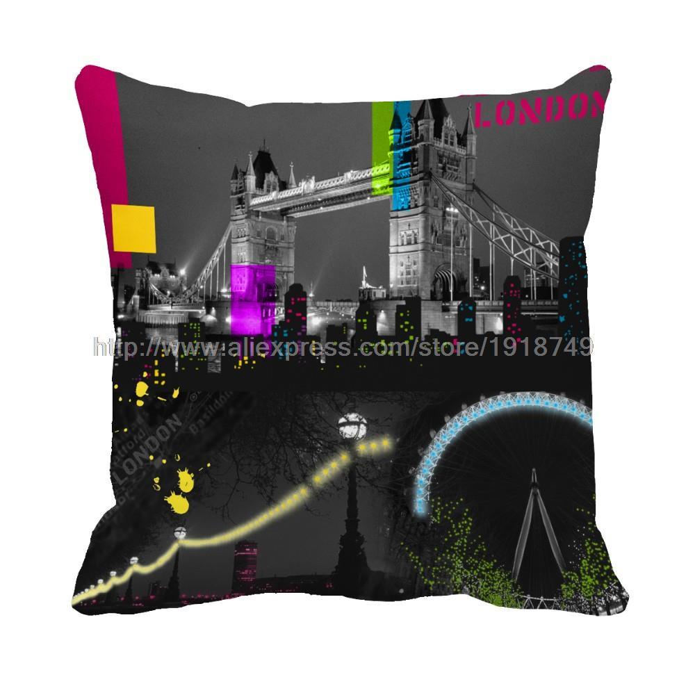 London City Bridge Printed Customized Home Decorative