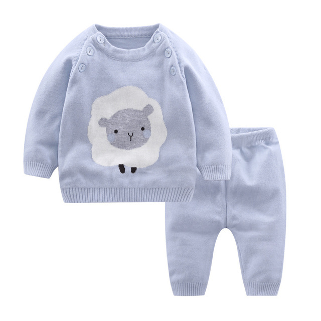 Sheep Knitted Set