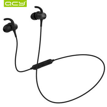 QCY M1S magnetic V4.2 chip Bluetooth headphone IPX5-rated sweatproof wireless earphone sport ear hooks headset with microphone - DISCOUNT ITEM  47% OFF All Category