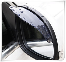 2018 HOT Car Styling rearview mirror rain eyebrow stickers For Kia Rio K2 K3 K5 K4 KX3 Cerato Niro Soul Forte Sportage R SORENTO