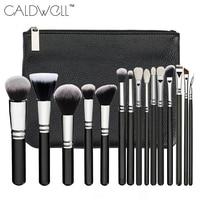 New Professional 15PCS Makeup Brushes Set Tools Make Up Toiletry Kit Make Up Brush Set Case