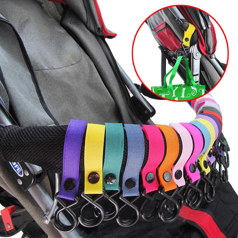 Baby Stroller Accessories Trolley Car Hook Multipurpose Child Convenient 360 Degree Rotation Hanging Hooks I0148