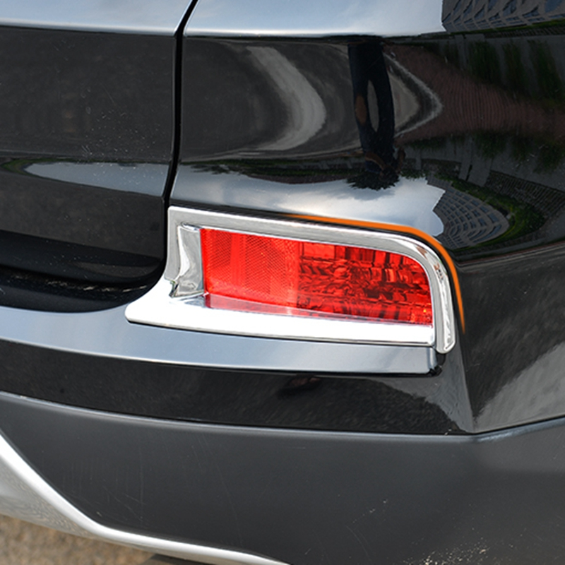 For Honda CRV 2015-2016 Auto Part Chrome Rear Tail Fog Light Lamp Cover Trim