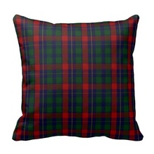 Soft Pillow Cover Stylish Clan Kilgour Tartan Plaid Pillow Case (Size: 20″ by 20″) Free Shipping