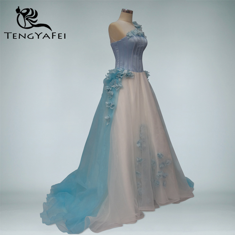 Customize vestido de festa sexy 2014 long formal dress party evening elegant Dress ball women gown flowers organza free shipping