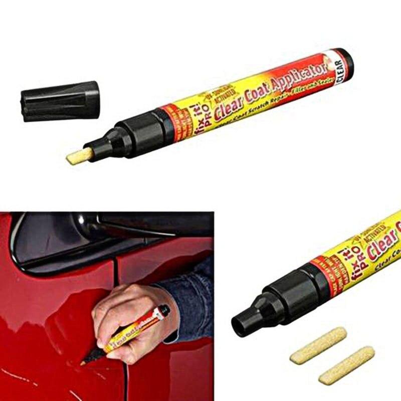 6 шт. универсальная авторучка для краски автомобиля нетоксичное покрытие для удаления царапин аппликатор M8617