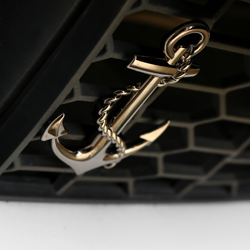 3d Metal Car Stickers Anchor Logo Insigniaauto Decal Car Accessories Exterior For Grand Cherokee Camry 50 70 Passat B6 B7 Pajero