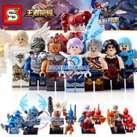 8PCS Set SY654 DR TONG New Enlighten Figures One Of China Romance The Three Kingdoms King