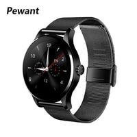 Pewant K88H Smartwatch Relógio Inteligente 1.22 Polegada IPS Tela Esporte Heart Rate Monitor relógio de Pulso Relógio Inteligente Para Android iOS Telefone Relógios inteligentes     -