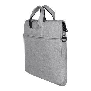 Image 2 - Multi Funktionale Laptop Tasche Sleeve Durchführung Fall mit Gurt für MacBook HP Samsung Acer Asus Dell Lenovo Notebook 13 14 15 zoll