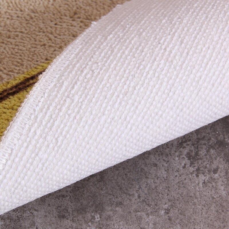 Мультфильм 50x80 см и 50x160 см двери Коврики поглощать масло Кофе стол площадь Домашний Декор ковры полосы кухня/Для ванной пол alfombras