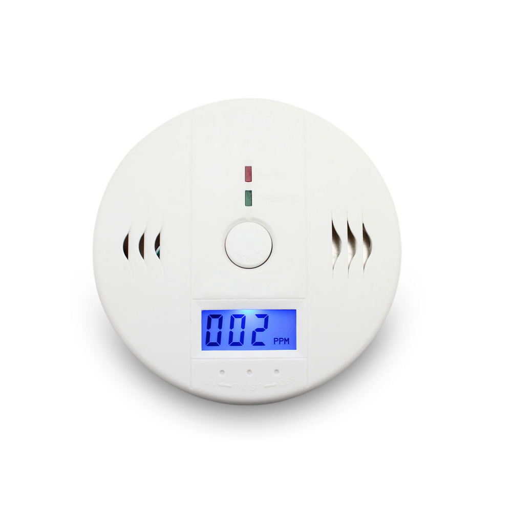 Carbon Monoxide Detectors Security 85db Warning High Sensitive Lcd Photoelectric Independent Co Gas Sensor Carbon Monoxide Poisoning Alarm Detector