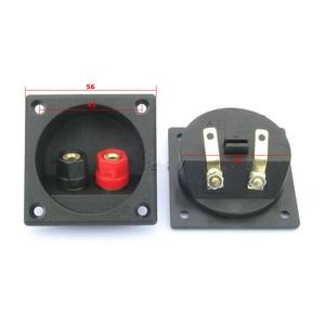 Image 3 - Aiyima 2pcs Speaker terminal box splicing fitting binding post panel diy accessories kit