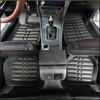 Universal car floor mats for Chevrolet Cruze Captiva Sonic Sail Spark Blazer Trax Aveo epica Camaro auto accessories car mats