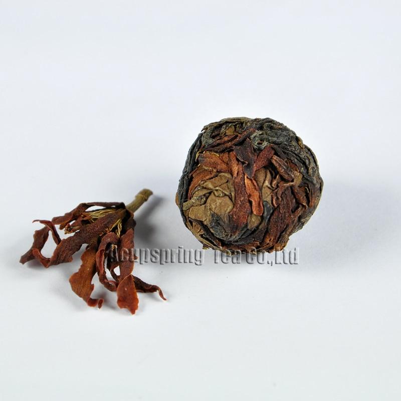 Michelia alba White Tea,Organic 2006 aged White Peony,100% natural Chinese Herbal,Handmade Anti-age tea,CB037H21