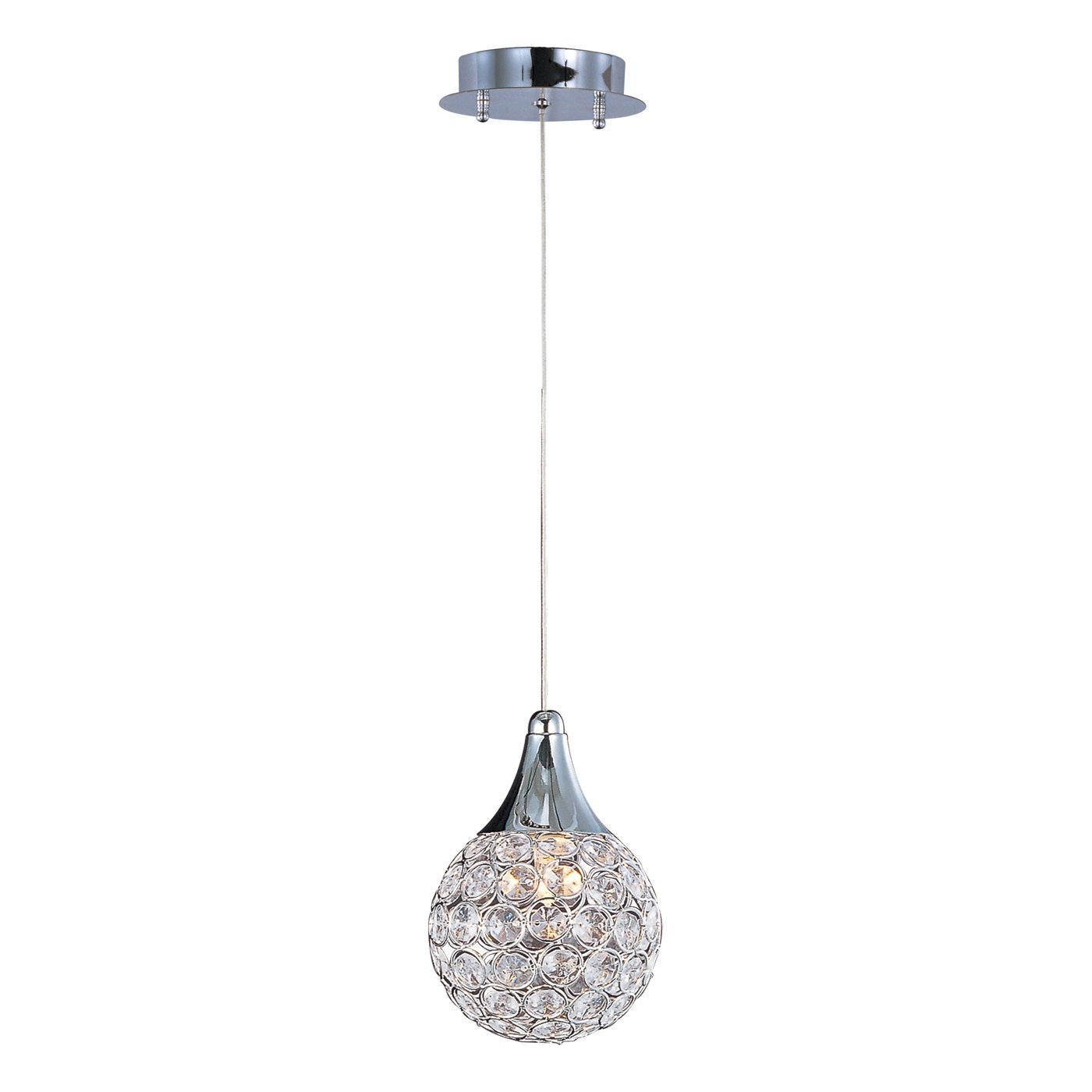 Modern Crystal Pendant Lamp Lights For Kitchen Hall Bar Dia15cm Round Ball Chandelier Pendant Haning Lamp Home Luminaire Fixture цены