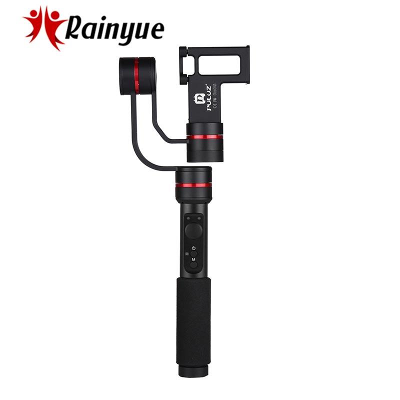 все цены на PULUZ G1 3-Axle Handheld Gimbal Stabilizer Anti-shake Selfie Stick Panoramic 360 Degree for Gopro Action Cameras Smartphone онлайн