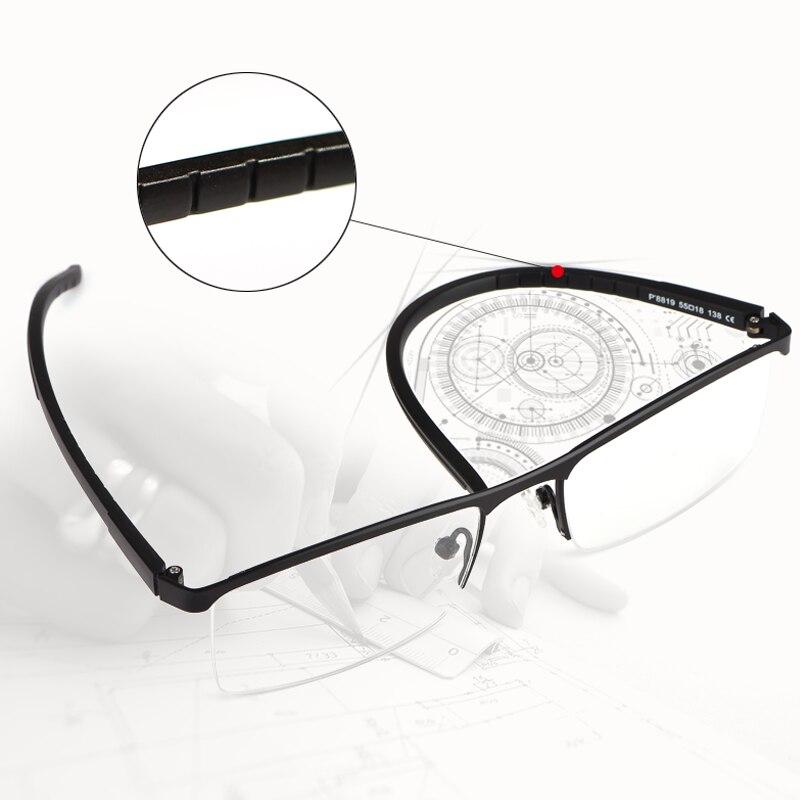 Image 2 - TR90 Reading Glasses  Computer Presbyopic Eyewear Multifocal Progressive Eyeglasses Anti Blue Light Glasses Men-in Men's Reading Glasses from Apparel Accessories