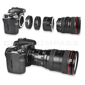 Удлинительный макрообъектив с 3 трубчатыми кольцами, адаптер для камеры Nikon DSLR D7000 D7200 D5100 D5200 D3200 D90 D800 D700