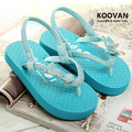 2016 Mother Daughter Tide Slippers Women's Kid Toe Sandals  Summer Girls ' Slippers Bowknet Beach Shoes Parent child KL404