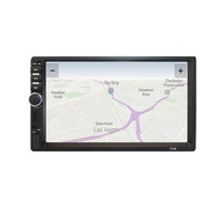 7 inch HD MP5 Touch Screen Bluetooth In Dash DVD 12V 2 Din Car Stereo Radio FM Function AUX USB MP3 MP5 Player Support TF