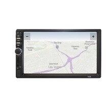 7-pollici HD MP5 Schermo di Tocco di Bluetooth In Dash DVD 12 v 2 Din Car Stereo Radio FM Funzione AUX USB MP3 MP5 Lettore di TF di Sostegno