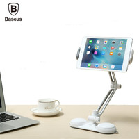 Baseus 360 Degree Rotation Adjustable Holder White Wit Lazy Bracket Double Suction Cups 5 5 15