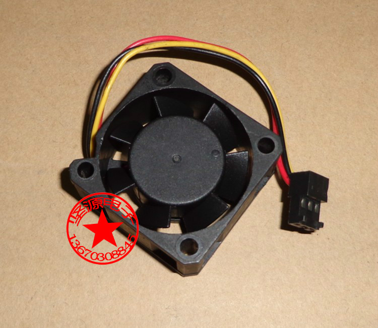 Emacro For PSC P1124020MB1A Server Square Fan DC 12V 100mA 1.2W 40x40x20mm 3-wire emacro for psc p1124020mb1a server square fan dc 12v 100ma 1 2w 40x40x20mm 3 wire