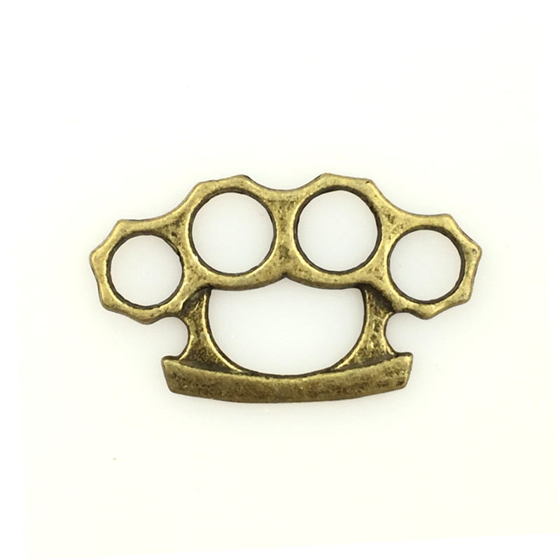 20Pcs Bronze Tone Hollow Bear's Paw Charm Pendants Connectors Breloque Jewelry Making 24x14mm
