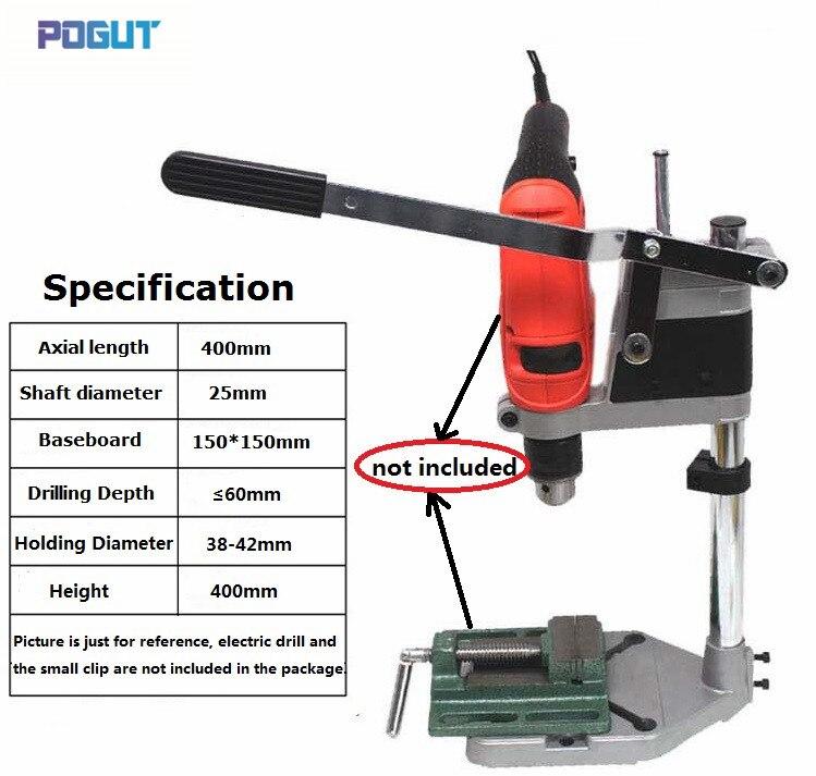 LIVRAISON GRATUITE! Support de perceuse support de presse pour 42mm perceuse électrique machines-outils etabli support d'aneth