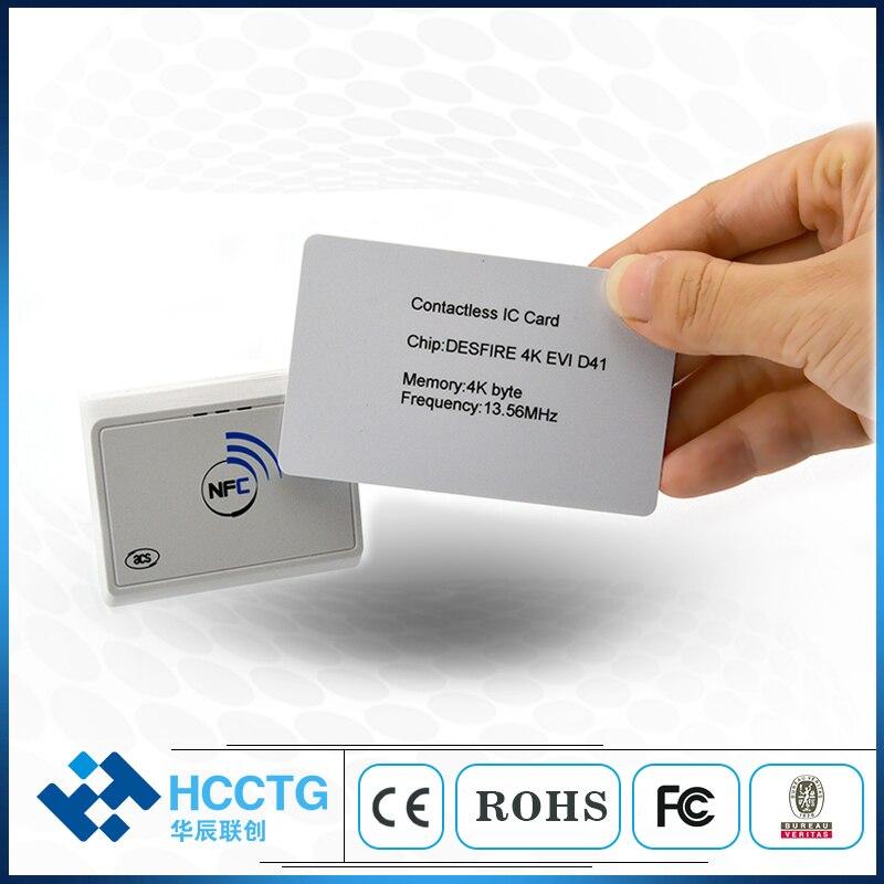 Écumeur de carte bluetooth nfc sans contact 13.56 mhz/émulateur/lecteur NFC Bluetooth alimenté par batterie-ACR1311U-N2 - 2