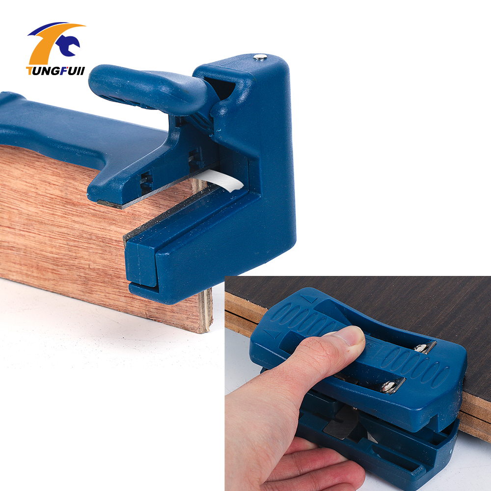 Double Edge Trimmer Banding Machine Woodworking Tools Edge Banding Machine PVC Band End Cutter Carpenter Hardware Tools