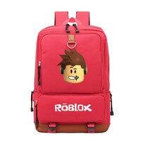 2019 Roblox игровой повседневный рюкзак для подростков, детей, мальчиков, студентов, школьные сумки, дорожная универсальная сумка через плечо, су...