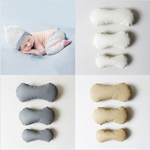 PU Bone Shape Newborn Posing Baby Photography Props Posing Pillow Newborn Positioner Baby Cushion Pillow Photography Accessories the design aglow posing guide for wedding photography
