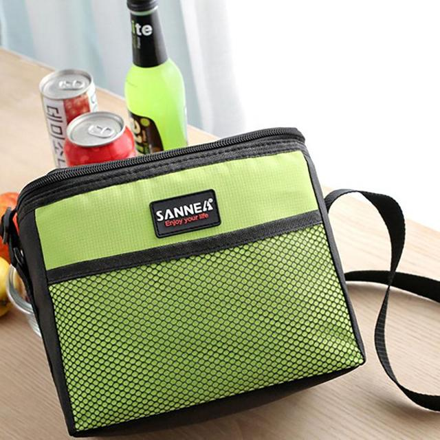 5L Cooler Insulated Lunch Box Picnic Ice Pack Insulation Lunch Bag Outdoor Picnic Bag