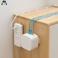 Socket Holder Wall Attached Hanging Storage No Traces Punching Patch Panel Paste Type Report Hooks