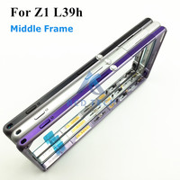Original Replacement Housing Metal Middle Phone Frame Cover For Sony Xperia Z1 L39H C6903