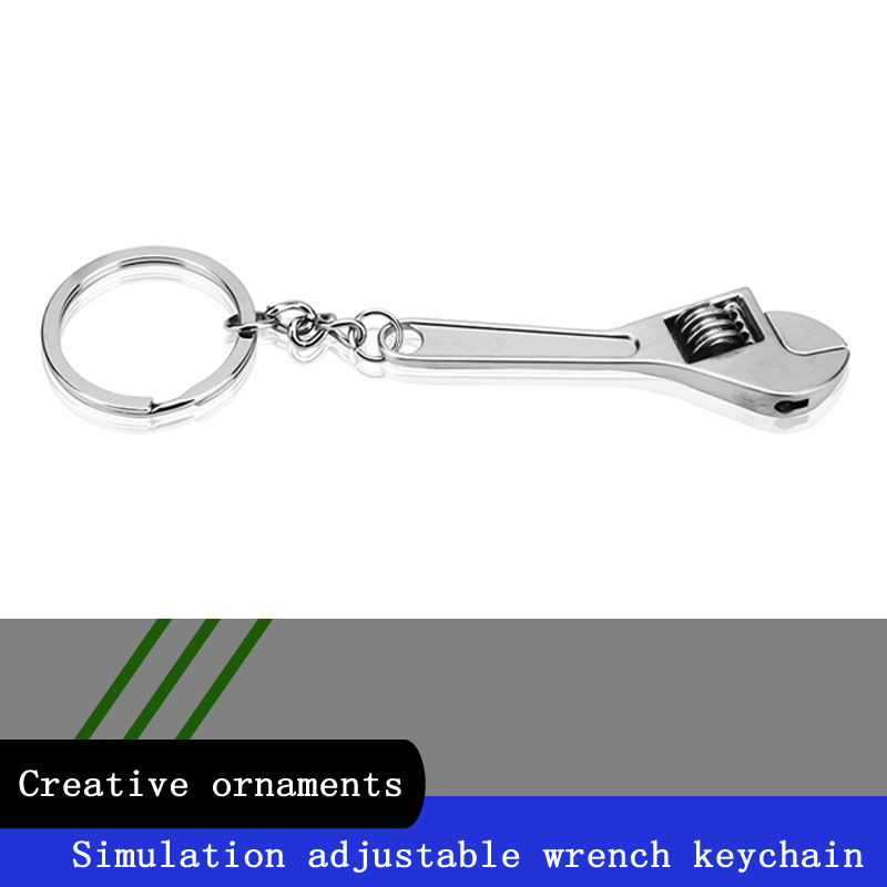 Ford Focus Stainless Steel Keychain