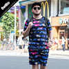 Summer Two Piece Set Men Short Sleeve T Shirt Top Shorts Men S Tracksuits 2018 New