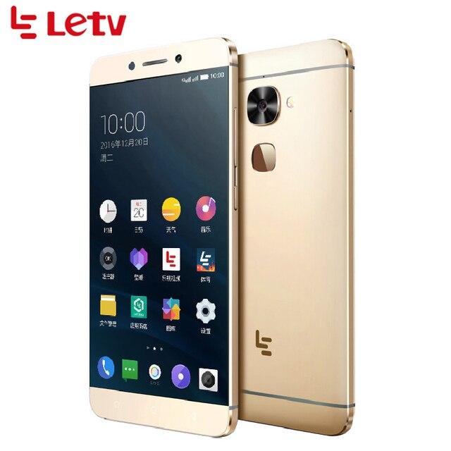 """Оригинальный LeTV LeEco Le S3 X626 сотовый телефон 5.5 """"4 ГБ Оперативная память 32 ГБ Встроенная память helio X20 Дека core 21.0MP Android 6.0 отпечатков пальцев Смартфон"""