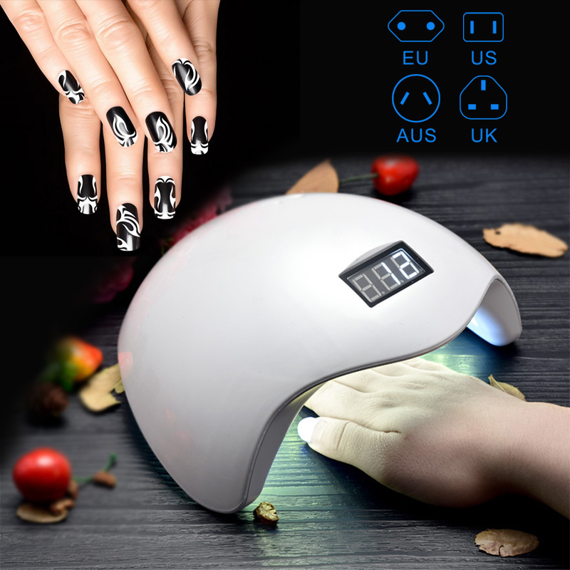 48W Sun UV LED Lamps Nail Polish Dryer Light Auto Motion Drier Curing Gel Timer Nail Art Manicure Tools For Women Lady Gift H7JP 48w nail polish gel art tools professional ccfl led uv lamp light 110 220v nail dryer automatic induction 10s 20s 30s timer