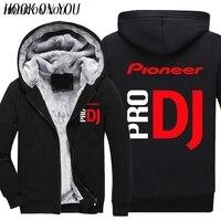 music pro dj pioneer Hoodies sweatshirts autumn winter fleece coat
