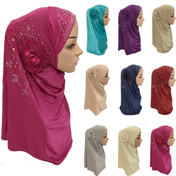 12PCS Muslim Hijab Inner Cap Islamic Ladies Head Scarf Headwear Women Wrap Shawl Scarf Ramadan Arab Amira Headscarf Random Color