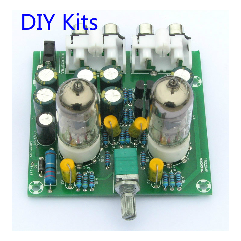 US $10 47 19% OFF|Aiyima Fever 6J1 tube preamp amplifier board Pre amp  Headphone amp 6J1 valve preamp bile buffer diy kits-in Amplifier from  Consumer