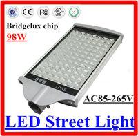 AC85 265V 98W LED Street lamp bridgelux chip 98W led street light Outdoor lighting With Warm White Neutral White Cold White
