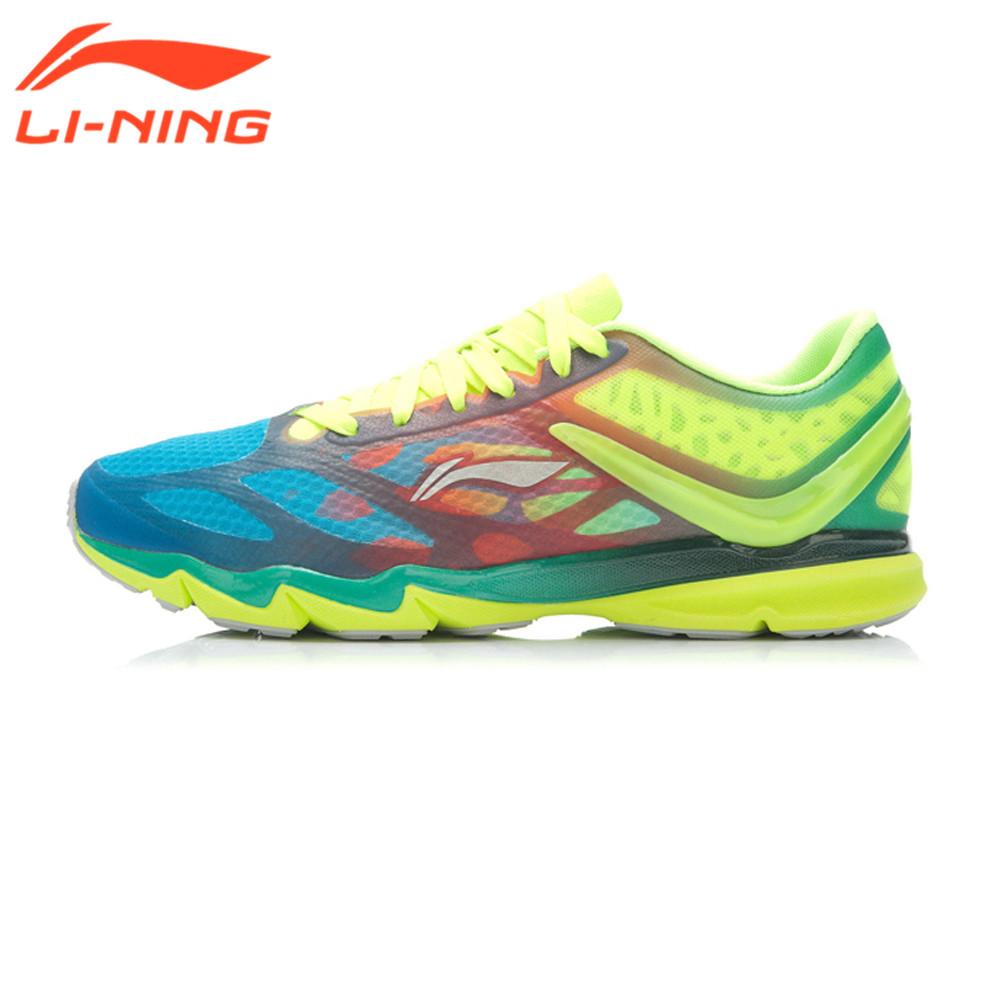 Prix pour Li-Ning D'origine Marque Sneakers Super Léger Chaussures de Course Hommes Gym Coussin Respirant Sneakers Air Mesh 12-Generations Chaussures