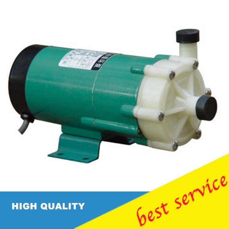 Plastic Magnetic Drive Acid Resistance Circulation Pump / Sea Water Pump/Centrifugal Water Pump 220V 60HZ