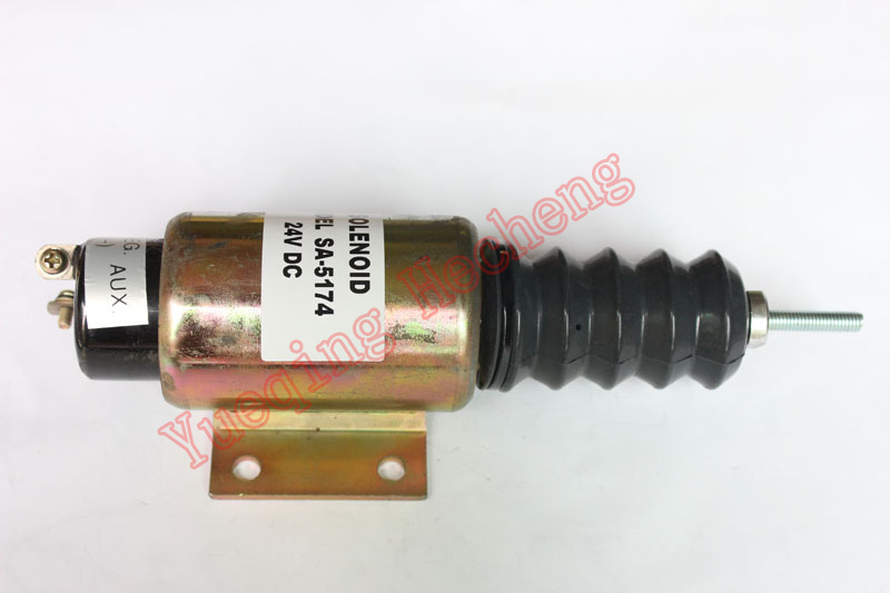 FUEL SHUT OFF SOLENOID 2001ES-24E3U1B2S2 SA-5174-24 3924450 2001es 12 fuel shutdown solenoid valve for cummins hitachi