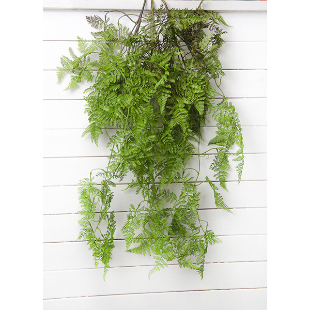37inch green realistic psilophyte artificial vine plastic hanging