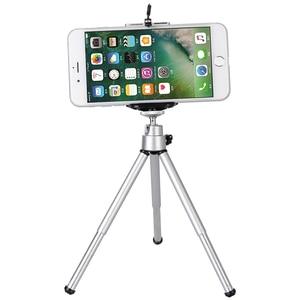 Image 1 - Mini trípode Universal para teléfono móvil, con Clip de aluminio, para Xiaomi iPhone 6, 6s, 7, 8 Plus, Samsung S7, S6 Edge, S5, Note 5, 4